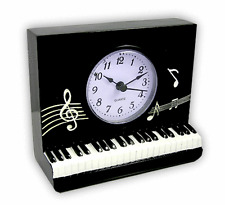 Square Piano Clock - Music Themed Gifts - Musical Clocks - Clocks for Musicians
