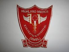 Vietnam War US 71st EVACUATION HOSPITAL HIGHLAND MEDICS Patch