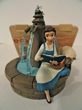 Disney Store Sketchbook Ornament 2016 BEAUTY AND THE BEAST Singing BELLE NWT