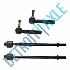 Brand New 4pc Front Inner and Outer Tie Rod Ends for Buick Chevy Pontiac Saturn