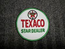 NOS Texaco Service Station Uniform Patch 3 1/2 inch round