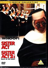 SISTER ACT 1 AND 2 BACK IN THE HABIT WHOOPI GOLDBERG 2 DISC SET DVD R4