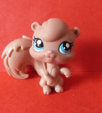 LITTLEST PET SHOP #1538 BROWN SQUIRREL * BLUE EYES * LPS * RARE * 2007