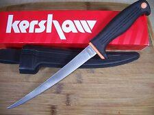 KERSHAW - Clearwater II Fillet fish SKINNER 420-J2 fishing knife w/ sheath 1257