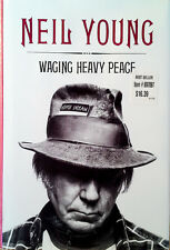 NEIL YOUNG - WAGING HEAVY PEACE - HARDBACK WITH DUST JACKET - 1ST EDITIION