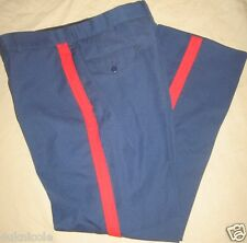 USMC US Marine Corps NCO Blood Stripe Dress Blues Trousers Pants Size 36 R