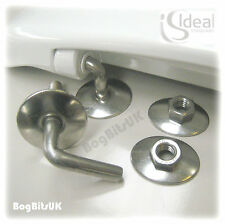 IDEAL STANDARD REPLACEMENT ALTO HALO STAINLESS STEEL TOILET SEAT HINGES E7597AA