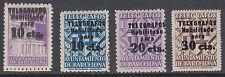 AYUNTAMIENTO BARCELONA TELEGRAFOS - ** 17/20 - CERTIFICADO GRAUS LUJO - AÑO 1942