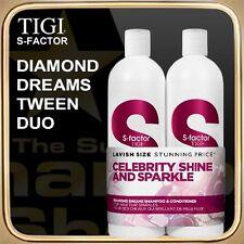 DIAMOND DREAMS Shampoo Conditioner (2x750ml) S-FACTOR TIGI Tween Duo