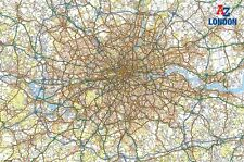 """MAP OF LONDON POSTER """"LARGE"""" LICENSED """"BRAND NEW"""""""