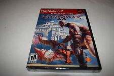 God of War Sony Playstation 2 PS2 Video Game New Sealed