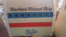 Vintage Barbie Friend Ship United Airline Airplane Plane 8639 Play Set Food Cart
