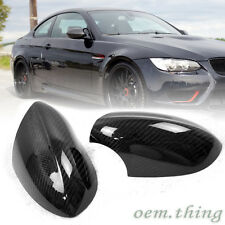 Carbon Fiber BMW 3-Series E90 E92 E93 M3 Mirror Cover Side 08-13 1 Pair ○