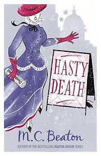 Hasty Death by M. C. Beaton (Paperback, 2010) New Book
