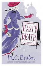 Hasty Death by M. C. Beaton (Paperback, 2010)