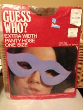 WOW!  Very Vintage Guess Who extra width one size pantyhose