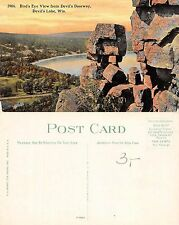 USA - Bird's Eye view from Devil's Doorway Devil's Lake Wis. (S-L XX436)