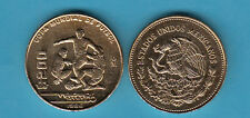 MESSICO 200 PESOS 1986 MONDIALI CALCIO WORLD CUP SOCCER COPPER NIKEL  MEXICO
