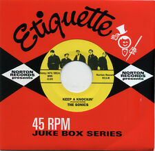 "THE SONICS  ""KEEP A KNOCKIN' c/w THE WITCH""   60's GARAGE    LISTEN!"