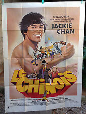Jackie Chan Affiche originale film - LE CHINOIS - 120*160 karate kung-fu