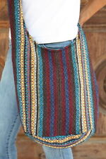 New Mong bag Boho Thai Cotton Hill Tribe Hippie Sling Shoulder CrossBody BG39