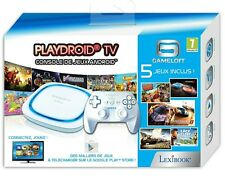 Console LEXIBOOK PLAYDROID TV Android Box Neuve sous Blister