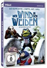 Der Wind in den Weiden - Staffel 1 * DVD Puppentrickserie Kenneth Grahame Pidax