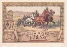 A7590) FIRENZE, 41 REGGIMENTO ARTIGLIERIA FIRENZE.