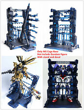 Super Nova MS Cage Base for Bandai 1/100 MG RE TV Gundam Unicorn Freedom Blue