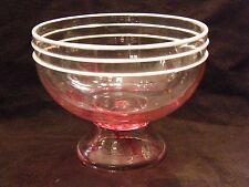 Coupe en Cristal St Louis Paul Nicolas Art Verrier époque Art Déco