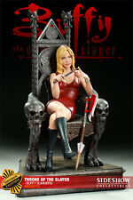 SIDESHOW BUFFY ON THRONE SLAYER EXCLUSIVE MAQUETTE
