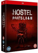 Hostel Parts 1+2+3 Trilogy Complete Blu-ray Boxset Boxed Set New & Sealed