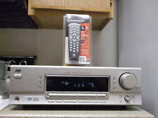 Refurbished JVC RX-5032VSL 500W 5.1 Silver Receiver Only W/ Bundled 4-1 Remote