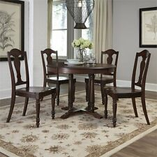 Home Styles Country Comfort 5 Piece Dining Set in Aged Bourbon