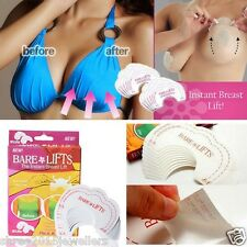 10 Pairs invisible Breast Boob lift Tape push up Bra Self Adhesive Nipple Cover