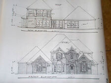 Custom House Plan 2 Story 3 Bed 3.5 Bath Home 3801 A/C Sq Ft 3 Car Garage