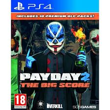 Payday 2 The Big Score PS4 Game Brand New