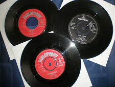 ADAM FAITH - BARGAIN JOB LOT OF 3 PARLOPHONE LABEL HIT SINGLES FROM 1960 TO 1963