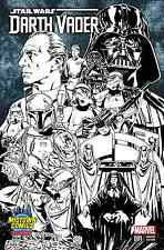 DARTH VADER 1 RARE MIDTOWN MARK BROOKS CONNECTING SKETCH VARIANT
