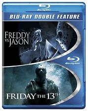 FRIDAY THE 13TH (2009) & FREDDY VS JASON -  Blu Ray - Sealed Region free