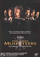 The Three Musketeers (1993) (Remastered) NEW R4 DVD