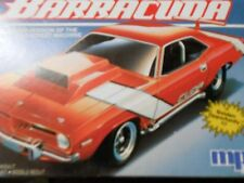 vintage rare mps barracuda plastic model car kit