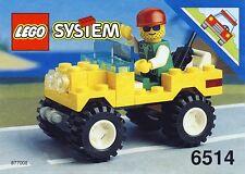 LEGO Town Trail Ranger (6514) (Vintage)