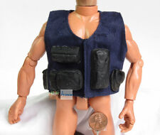 US 1:6 Action-Figur Modell SWAT Tactical BULLETPROOF BODY ARMOR Vest Jacket DA82
