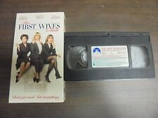 "~USED VHS Movie~ ""The First Wives Club"""