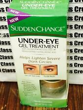 SUDDEN CHANGE UNDER-EYE GEL TREATMENT-HELPS LIGHTEN SEVERE DARK CIRCLES-0.50 OZ