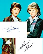 Sharon Gless / Tyne Daly (Cagney & Lacey)  Autograph, Original Hand Signed Cards