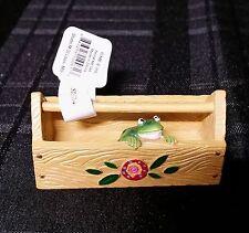 New Miniature Dollhouse Fairy Garden Frog Caddy