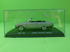 CDC DETAIL CARS ART.185 FORD TAUNUS BADEW CONVERTIBLE 1/43  - NMIB IN BOX -