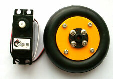 DIY DC 4.8-6V 360 degree Servo with wheel DC geared motor robots chassis arduino